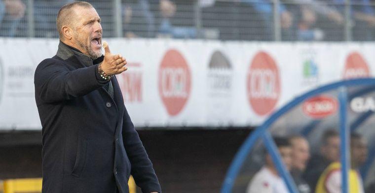 De Wolf komt na derby van Spakenburg met nieuws: 'Dit wordt mijn laatste seizoen'