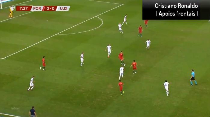 Eén keer raken, twee keer raken, één keer raken: Ronaldo houdt het simpel