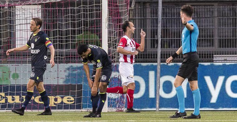 Alberg maakt er drie en schiet geplaagd Roda naar dikke zege op Helmond Sport