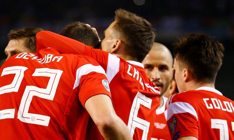 Afbeelding: Rusland geplaatst na zege tegen Cyprus, Schotland viert dankzij hattrick