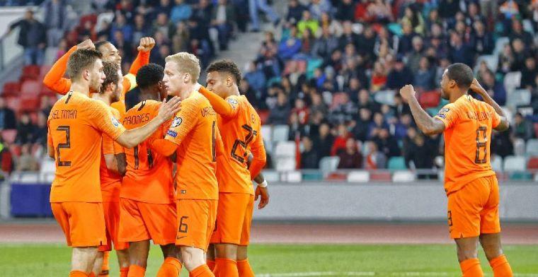 Slordig Nederlands elftal geeft het bijna weg in Minsk, maar pakt wel drie punten
