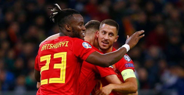 Hazard over het succes van België: Dat is wat de ploeg vooruit stuwt