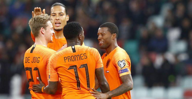 LIVE: Oranje worstelt zich naar drie punten tegen Wit-Rusland (gesloten)