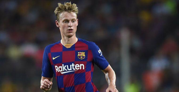 Frenkie de Jong 'breekt alle records' bij Barça: Het was ook een anonieme bron