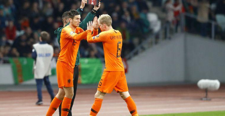 De voor- en nadelen van een Oranje-middenveld met De Roon of Van de Beek