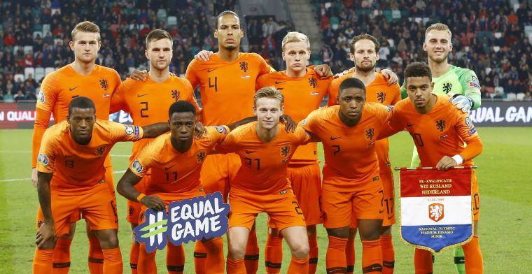 EK 2020: op deze plekken en deze data speelt het Nederlands elftal
