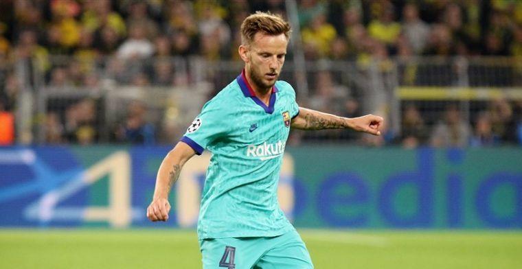 'FC Barcelona wil cashen en is bereid om Rakitic in winter te laten gaan'