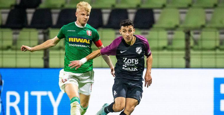 'Met Jong Feyenoord in de Eerste Divisie, had voor mij heel veel gescheeld'