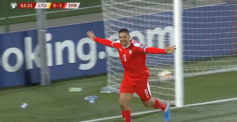 GOAL: Mitrovic 2 keer in 5 minuten, ongestraft tegenstander neerleggen en scoren