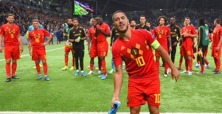 Druk bij Real Madrid, maar Hazard blijft koel: Dat zou ik niet durven zeggen
