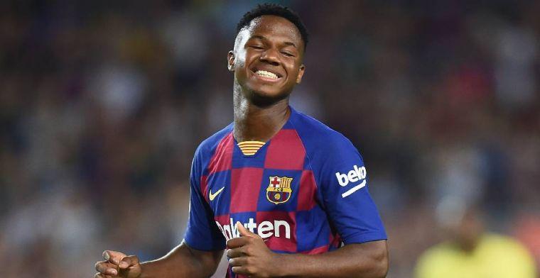 'Barça wil Fati naar eerste team halen en afkoopsom verdubbelen'