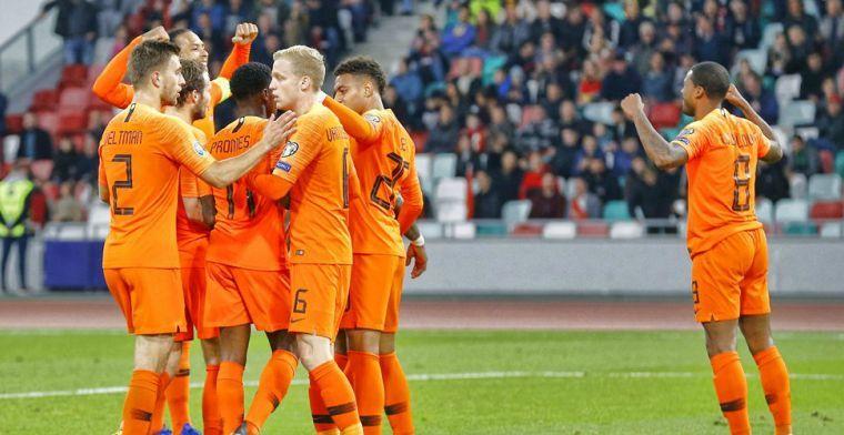 Het spel is te wiebelig om Nederland tot de titelfavorieten te rekenen