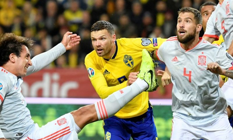 Afbeelding: EK-kwalificatie: Spanje zeker van EK, sleutelduel tussen Zweden en Roemenië wacht
