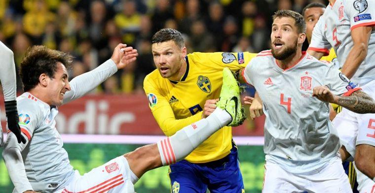 EK-kwalificatie: Spanje zeker van EK, sleutelduel tussen Zweden en Roemenië wacht