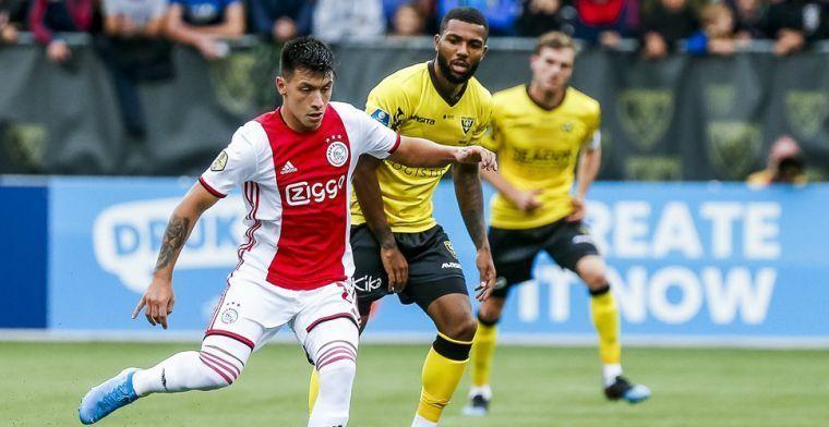 'We spelen constant in balbezit bij Ajax en dat spelletje bevalt me wel'