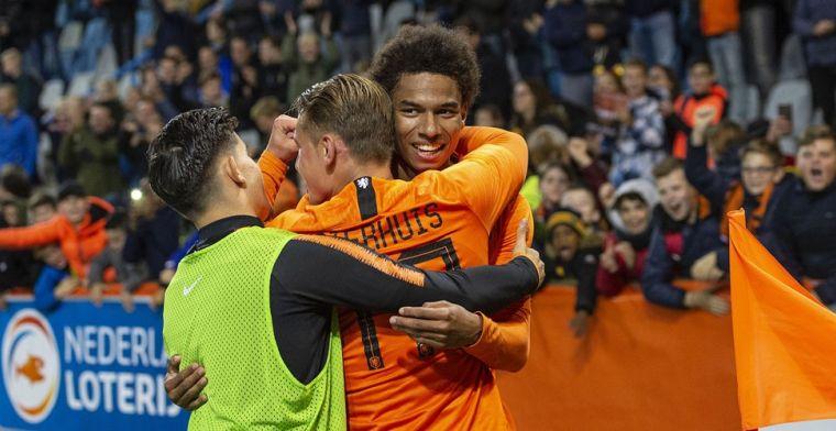 Jong Oranje wint mede door fantastische goal Stengs overtuigend in Noorwegen