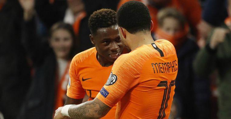 Memphis trots op boezemvriend: 'Het doet me goed hoe hij bezig is bij Ajax'