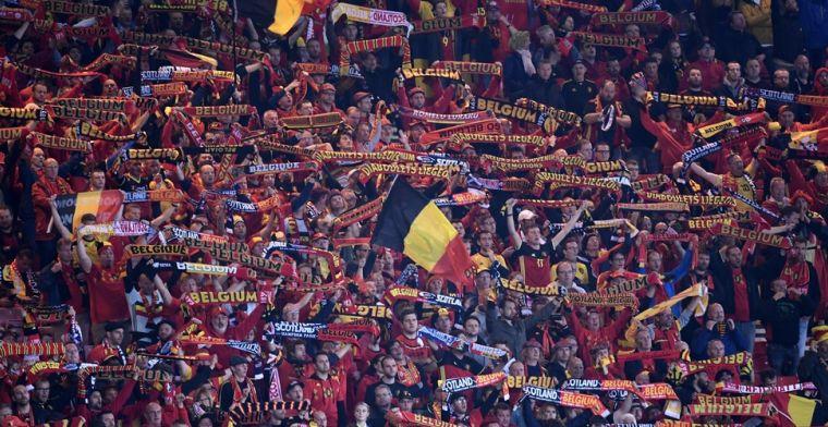 Gekwalificeerd voor het EK, maar is België ook al zeker van twee tegenstanders?