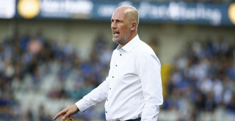 Clement waarschuwt spelers van Club Brugge voor Moeskroen: Moeten top zijn