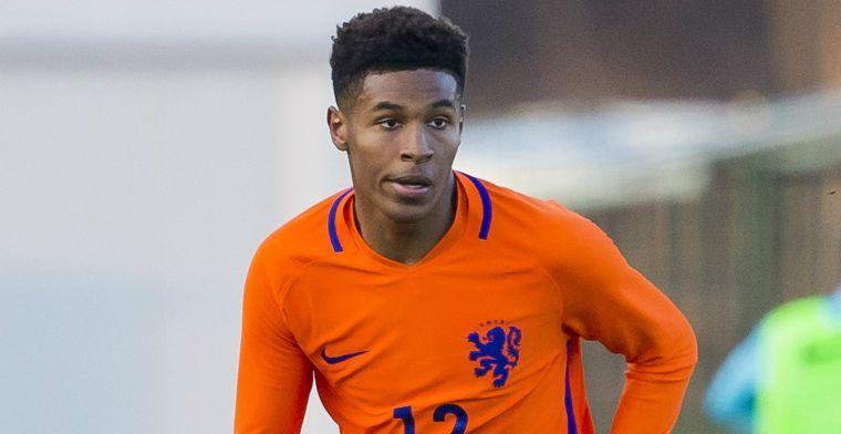 Oranje-jeugdinternational toe aan 'mannelijk voetbal': Eredivisie is een optie