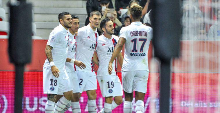 PSG loopt in slotfase weg bij Nice na bliksemoptreden Mbappé en assist van Meunier