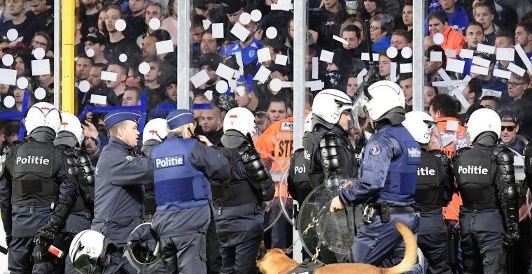 Volgens STVV deed niemand iets van club iets verkeerd na ingrijpen van omroeper