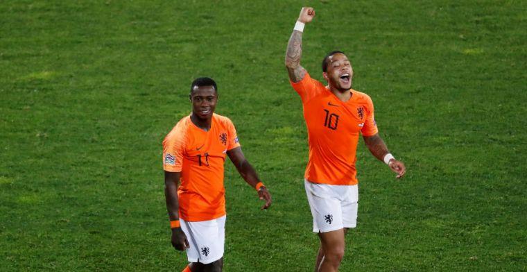 Opvallende vriendschap tussen Promes en Oranje-teamgenoot: 'Eerst altijd ruzie'