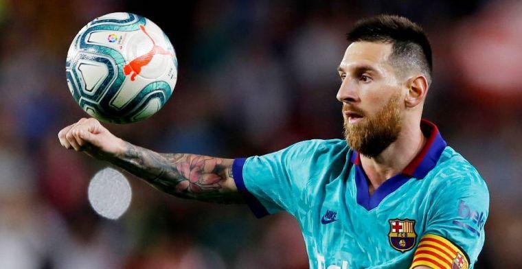 Messi slaat aanbieding van Barça af: 'Wil mij niet op zo'n manier binden'