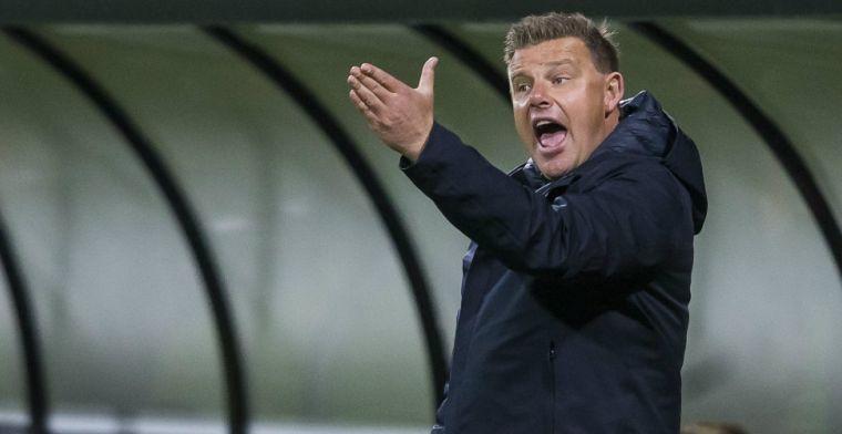 Stegeman grijpt in bij PEC Zwolle: Daar voelde ik me niet comfortabel bij