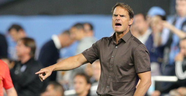 'Flexibele' De Boer: 'Als je ziet hoe ik speel, dat heeft niks met Ajax te maken'