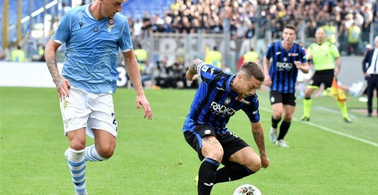 Atalanta geeft voorsprong van drie goals weg en laat plek twee liggen