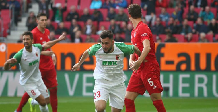 Weghorst scoort en staat voorlopig aan kop, Finnbogason zit Bayern dwars