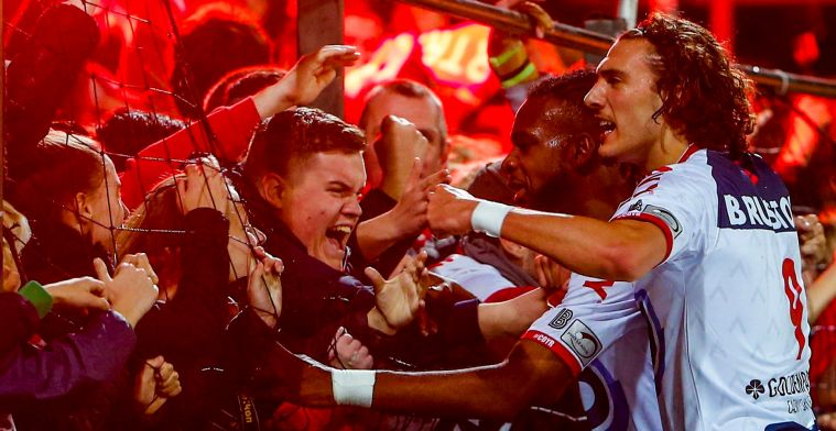 KV Kortrijk wint zesde keer op rij derby van Zulte Waregem
