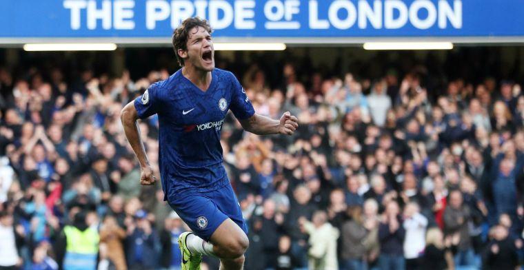 Chelsea wint en is klaar voor Ajax, weer puntenverlies Tottenham Hotspur