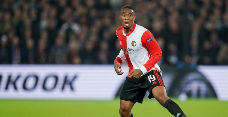 Fer wil bij Feyenoord blijven ondanks aflopend contract: 'Dat hoop ik wel ja'