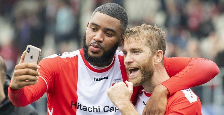 'Ik wil vrijuit spelen en ik weet dat ik goed kan voetballen, goals komen vanzelf'