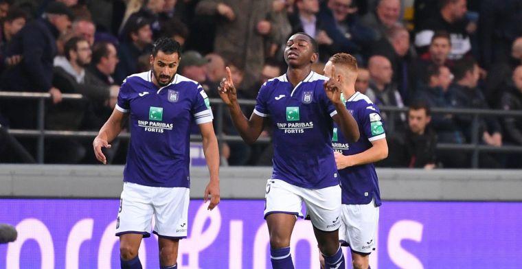 Kana scoort voor Anderlecht en nestelt zich in indrukwekkend lijstje
