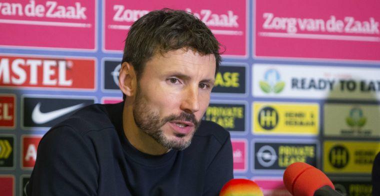 Van Bommel bekritiseert eigen spelers: 'Er was eigenlijk niets aan de hand'