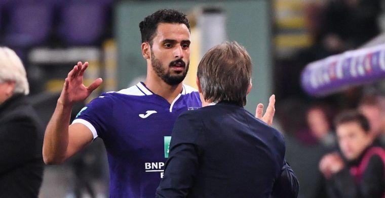 Chadli de grote man bij succesvolle rentree van Vercauteren bij Anderlecht