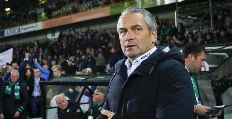 Nog geen Storck-effect, Cercle Brugge verliest ook van Charleroi