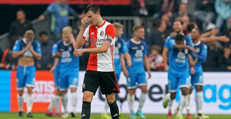 Feyenoord mist kansen tegen Heracles: nummers 1 en 2 van rechterrijtje in balans