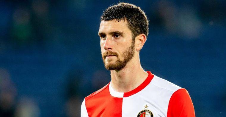 Zwak debuut Senesi bij Feyenoord: 'Dit was een zeer, zeer, zeer slecht begin'