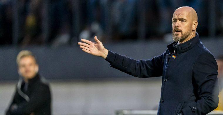 De Telegraaf: 'Ten Hag is de dupe van zijn eigen polderen bij Ajax'