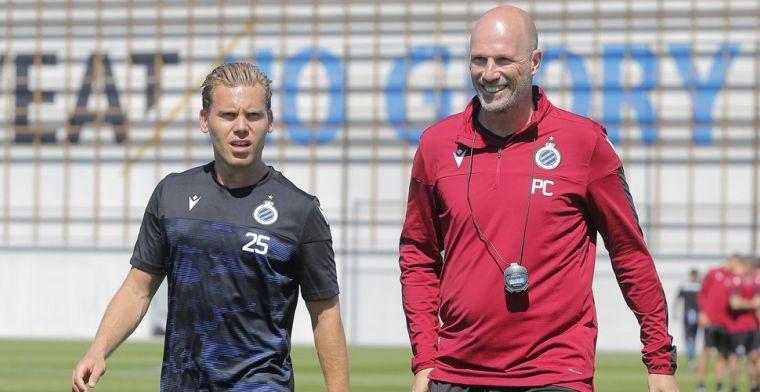 Clement met kopzorgen bij Club Brugge: '3 opties om Vormer te vervangen'