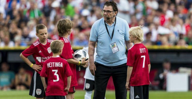 Van Hanegem kraakt 'messias' Kuyt: 'Maakt de Feyenoord-crisis nog pijnlijker'