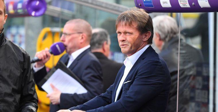 Vercauteren drukt direct zijn stempel: Nog weinig gezien bij Anderlecht