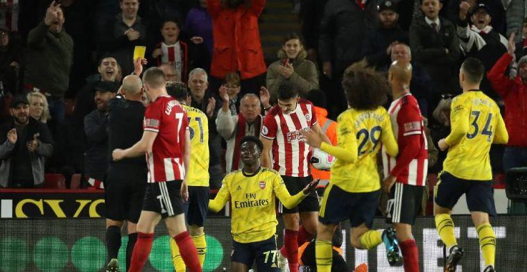 Pijnlijke nederlaag voor Arsenal in de Premier League, negatieve rol Pépé en VAR