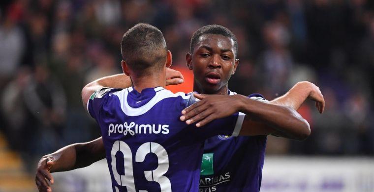 Kana scoort voor Anderlecht: Nu in lijst met Lukaku, Tielemans en Van Himst