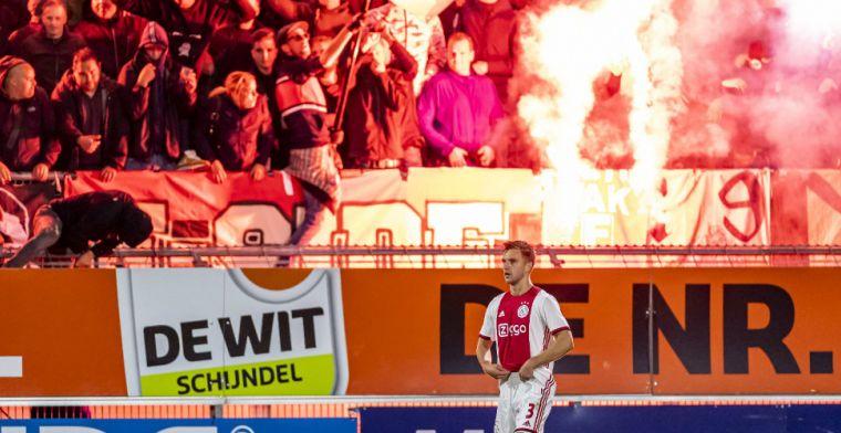 RKC verhaalt schade in Mandemakers Stadion op Ajax na afsteken fakkels in uitvak
