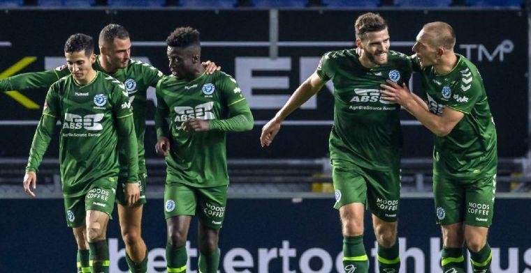 De Graafschap wint topper van NAC, Bandé maakt rentree bij Jong Ajax